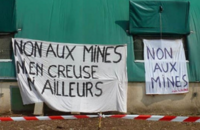 Rencontre nationale des collectifs anti-mines à Bord-Saint-Geoges en juillet