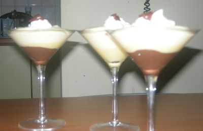 coppa chantilly e cioccolato