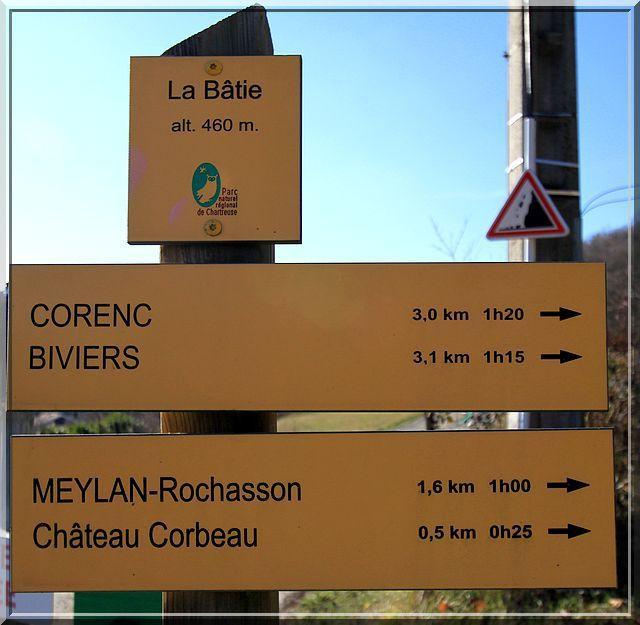 Diaporama château Corbeau à Meylan
