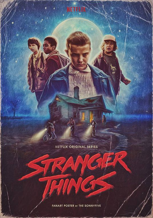 Le Monde est fan de la série Stranger Things !
