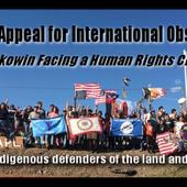 Standing rock : Appel urgent à des observateurs internationaux - coco Magnanville