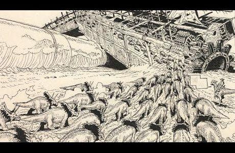 LA TRANSHUMANCE DES DINOSAURES - DINODRAW #12