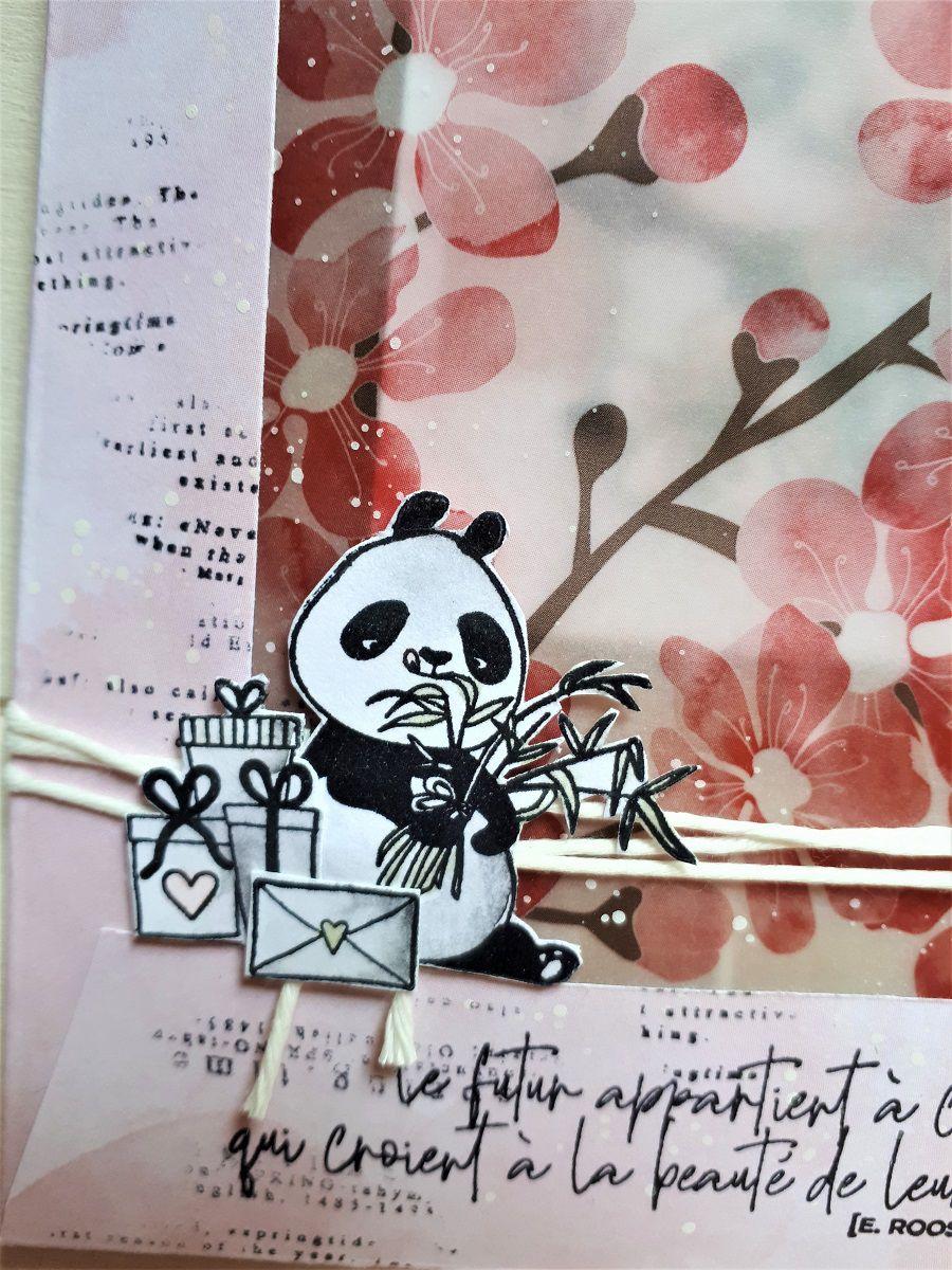 Pochette surprise panda * DT Ephéméria *