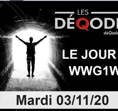 Édition Spéciale - Alexis Cossette, Dan Ad Lumen  et les DéQodeurs (03/11/2020)