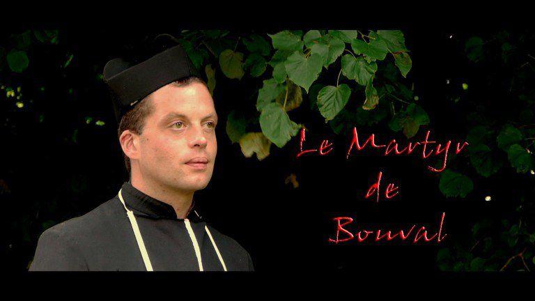 De nombreux bénévoles ont participé au tournage dirigé par Marie-Sophie Guéring dont Clément Queiros dans le rôle de l'abbé Filiol