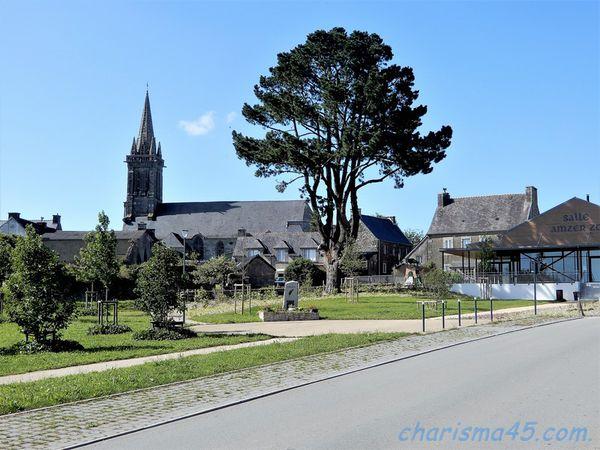 Poullaouen, Bretagne en camping-car