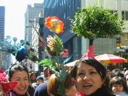 Parade de Pâques à New York - et ses chapeaux !