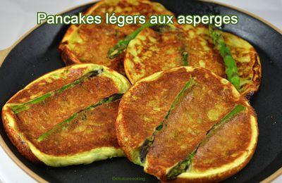Pancakes légers aux asperges
