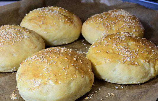 Petits pains (ou buns) au petit épeautre, IG bas et quasi sans gluten.