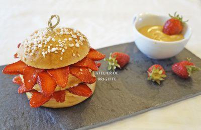 Breizh Burger, recette du Chef Ch. Adam