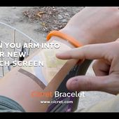 The Cicret Bracelet: Like a tablet...but on your skin. (www.cicret.com)