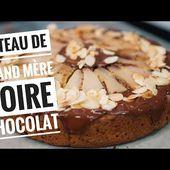 Recette du GATEAU poires chocolat, un gâteau de grand-mère qui déchire