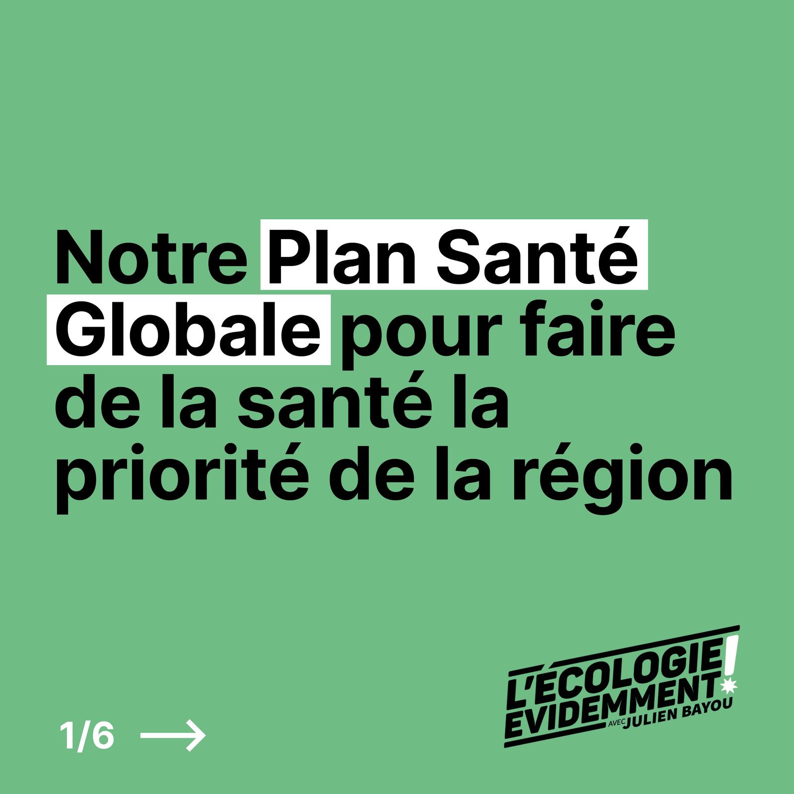 Elections régionales : un plan de santé pour l'Île-de-France