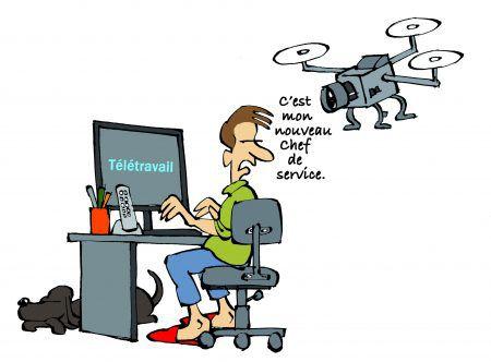 Télétravail : à quelles conditions l'employeur peut-il surveiller les salariés ?