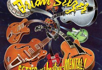 "BRIAN SETZER cd ""Setzer Goes Instru-MENTAL !"""