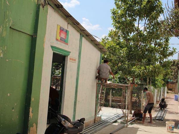 Réparation des façades