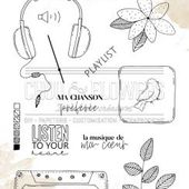 TAMPON CLEAR MUSIQUE