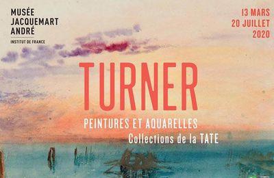 Exposition Peintre du XIX ème Siècle: TURNER, Peintures et Aquarelles. Collections de la Tate