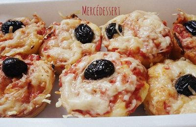 MUFFINS PIZZAS
