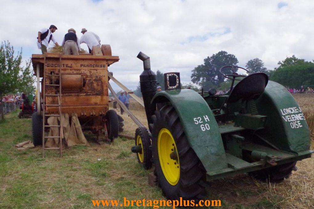 Ce dimanche 11 août, se déroulait la Fête du blé 2013, à Pleudihen sur Rance