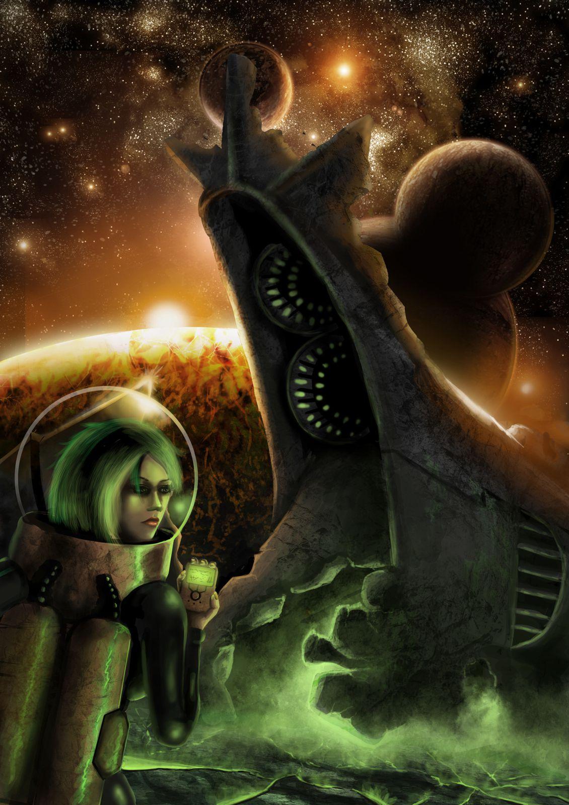 Personal Work: Space crash