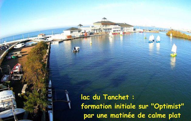 Ecole de voile sur le lac du Tanchet