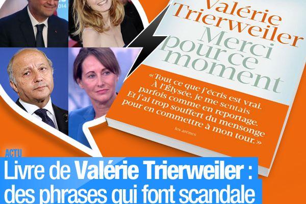 Livre de Valérie Trierweiler : des phrases qui font scandale et des chiffres qui s'emballent ! #MerciPourCeMoment