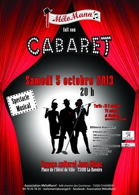 CLAP CLAP CLAP !!!!!! WELCOME TO THE CABARET !