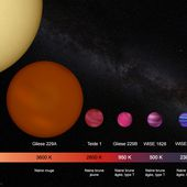 La Voie Lactée avec 100 milliards de Naines Brunes !