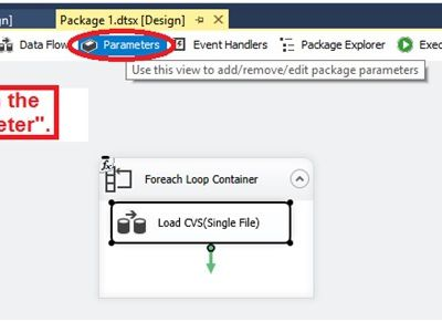 Variable and Parameter in SSIS(SQL Server Integration Service)