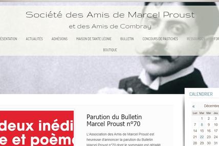 La Société des amis de Marcel Proust: des concours intelligents et excitants