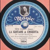 "Nini Cordy "" la guitare à Chiquita "" 1948"