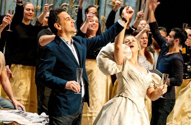 La Traviata sous la direction de  Nézet-Séguin