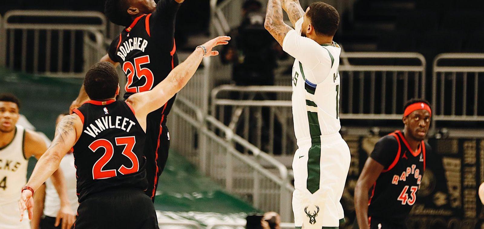 Milwaukee subit une quatrième défaite d'affilée en s'inclinant face aux Raptors du duo VanVleet-Siakam