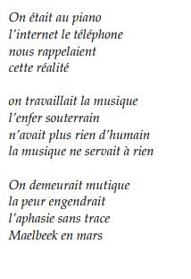 François Mardirossian nous propose de découvrir son univers au travers de quelques poèmes...