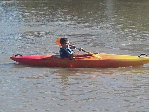 Kayak séance 3 pour les CM2