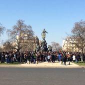 A 11 heures plus forte mobilisation de la jeunesse que la semaine dernière! - Front Syndical de Classe