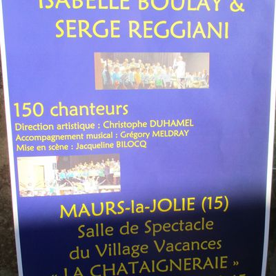 Hommage musical a Isabelle BOULAY et Serge REGGIANI
