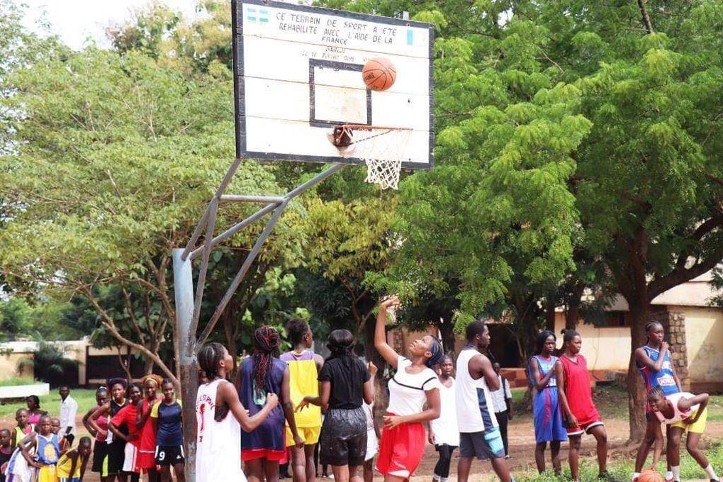 Une coopération sportive en Centrafrique