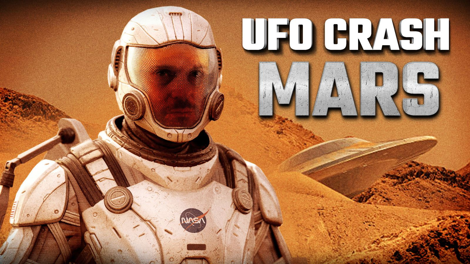👽 New Evidence Of A UFO Crash Landing Site On Mars ?