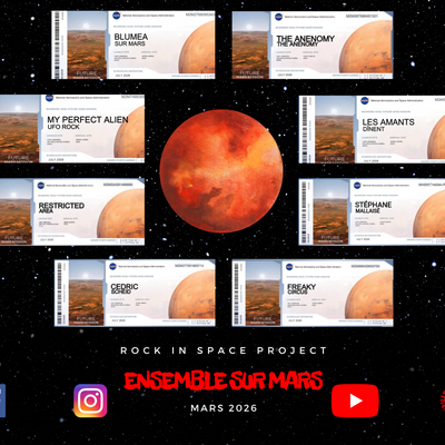 🔴 ROCK IN SPACE PROJECT - SEMAINE #1
