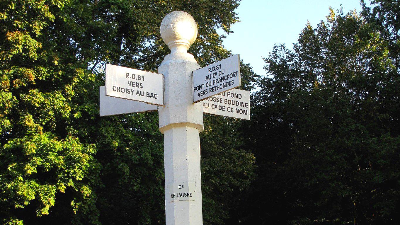 le carrefour de l'Aisne