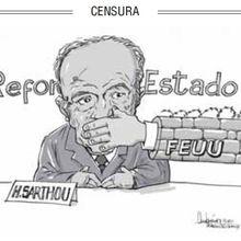 Uruguay: No querían... pero Sarthou hablará el viernes en la carpa de la dignidad.
