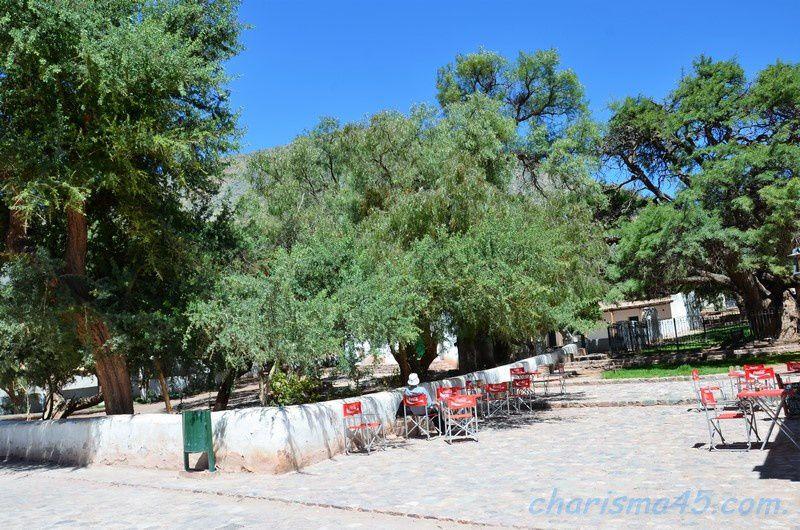 Purmamarca, Argentine en camping-car