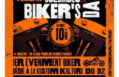 Colombes Biker's Day le 5 mai à côté de la patinoire de l'ile Marante de Colombes