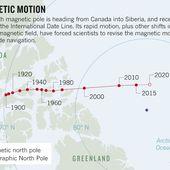 Le champ magnétique terrestre fait des siennes et les géologistes ne savent pas pourquoi - MOINS de BIENS PLUS de LIENS