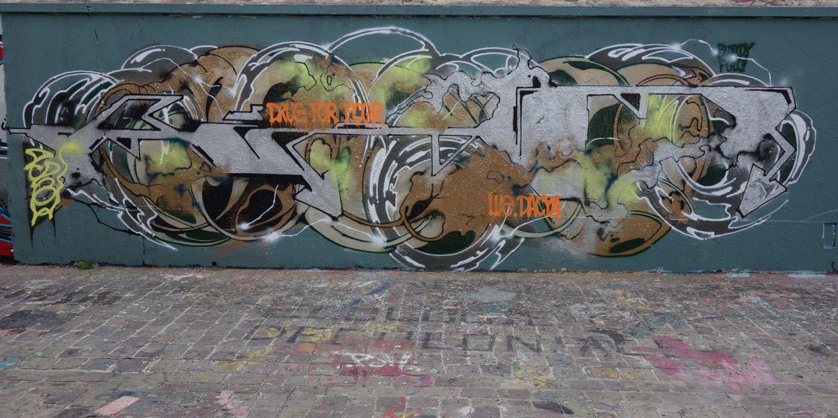 Street Art : Graffitis & Fresques Murales 93055 Pantin