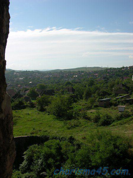 Château de Hunédoara, Roumanie en camping-car