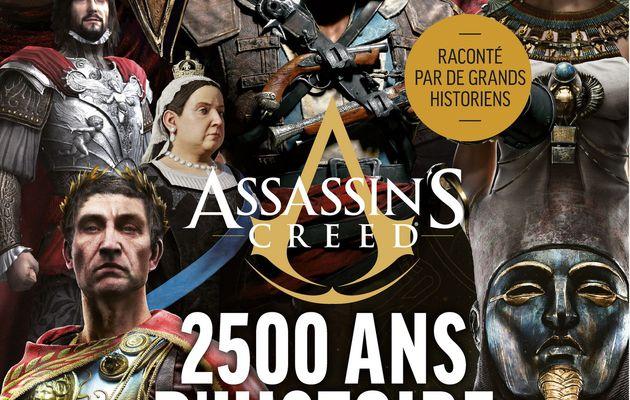 [REVUE LIVRE GAMING/GEEK] ASSASSIN'S CREED 2500 ANS D'HISTOIRE aux éditions LES ARENES