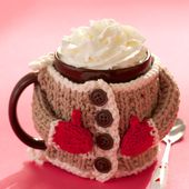 Hug Me Mug Cozy - Patterns | Yarnspirations